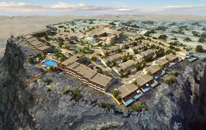top5 2016 Anantara Jabal Al Akhdar Resort Oman