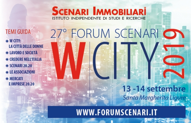 Forum Scenari – W City, 13 e 14 Settembre 2019, Santa Margherita Ligure