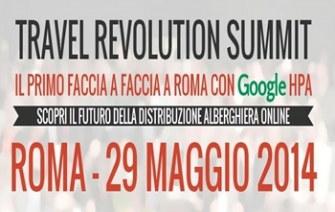 Travel Revolution Summit, 29 maggio 2014, Roma