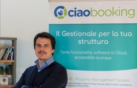 Alberto Vincenzi, Co-Founder Ciaobooking