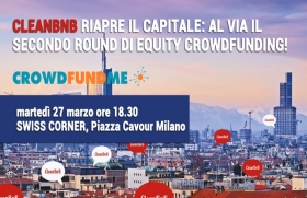 Al via la seconda campagna di crowfunding per Cleanbnb