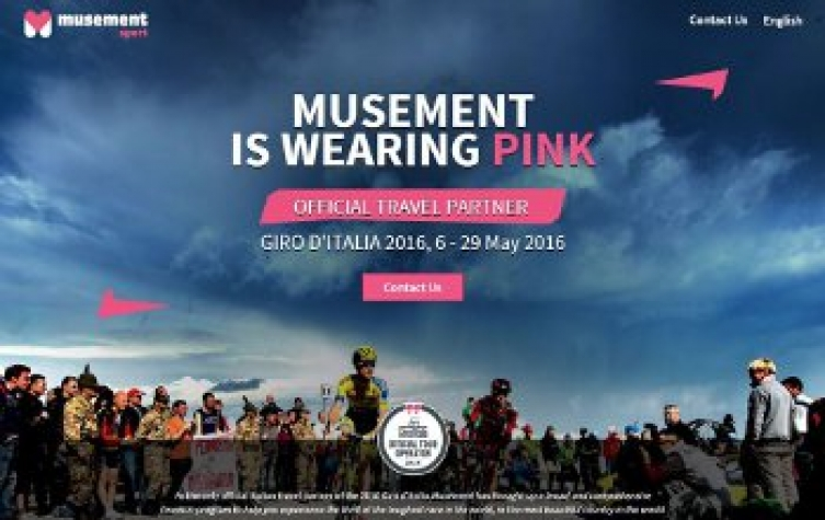 Musement è Official Travel Partner per il Giro d'Italia 2016