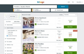 trivago integra HomeAway