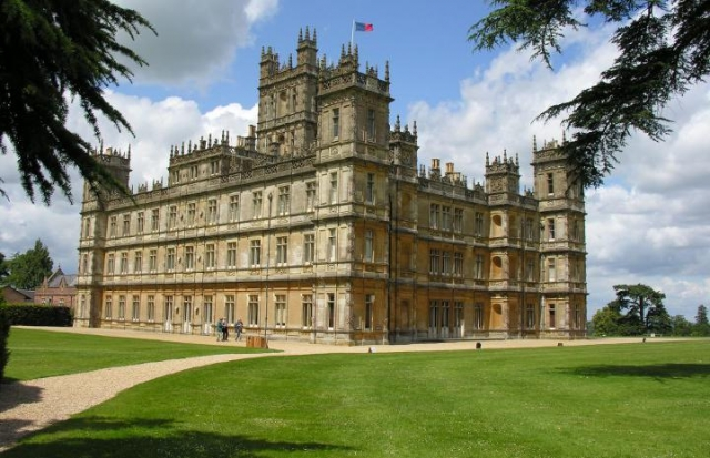 Il castello di Downton Abbey - Regno Unito