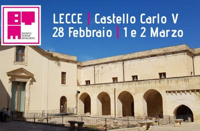 BTM 2019, Business Tourism Management, Lecce
